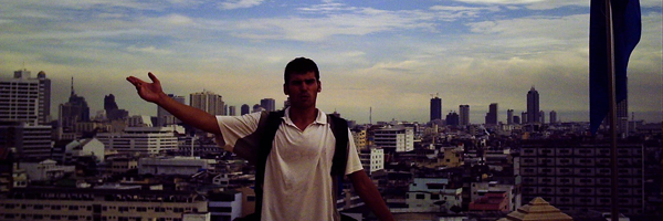Abschied von Bangkok auf dem Golden Mountain