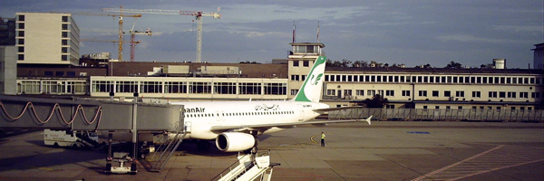 Mahan Air am Flughafen Frankfurt