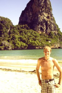 Am Strand von Railay Beach