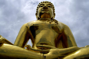 Goldener Buddha beim Golden Triangle