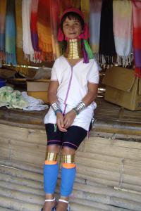Langhalsfrauen von Thailand