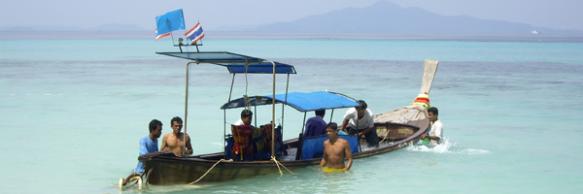 Schiffbruch bei Bamboo Island