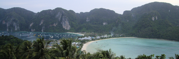 Aussichtspunkt auf Ko Phi Phi