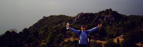 Gipfel auf Ko Tao