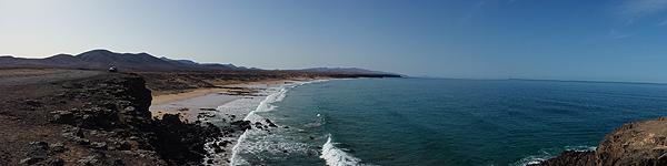 Der Strand von El Cotillo