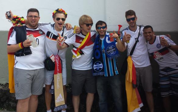 WM-Spiel Deutschland Portugal Salvador