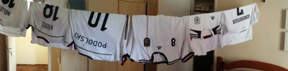 Fußballtrikots waschen