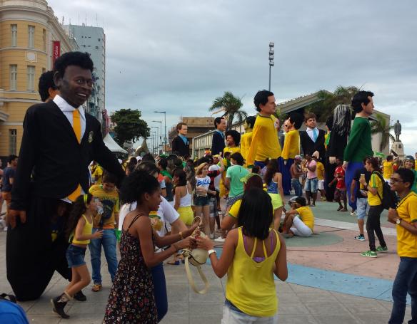 Karnevalsfiguren von Recife