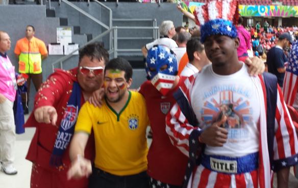 Deutschland gegen USA in Recife
